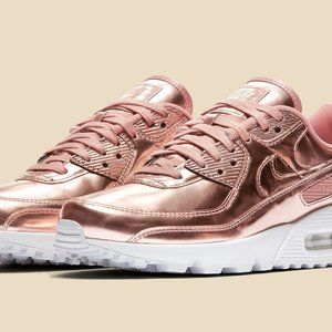 AUTHENTIC NIKE AIR MAX 90 SP Rose Gold White